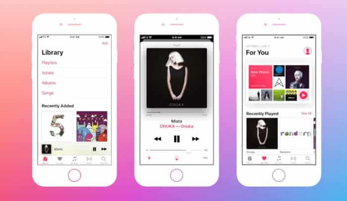 Aplikasi Musik Apple Music