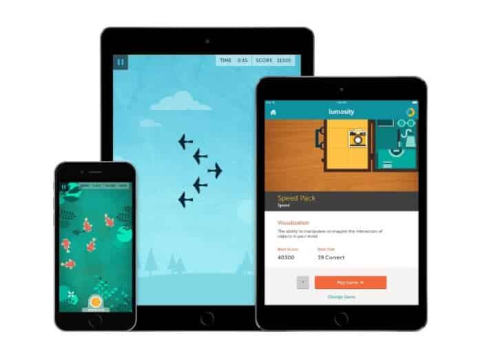 Aplikasi Keluarga Sehat Lumosity Mobile