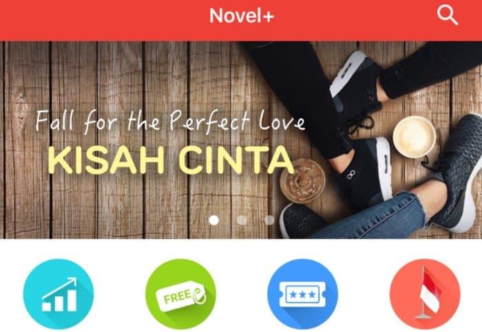 Aplikasi Novel