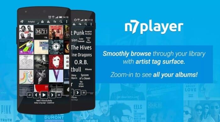 Aplikasi Musik n7player