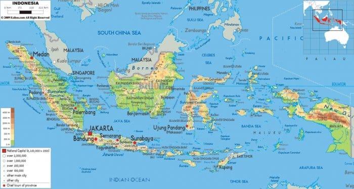 Pengertian Letak Geografis Indonesia