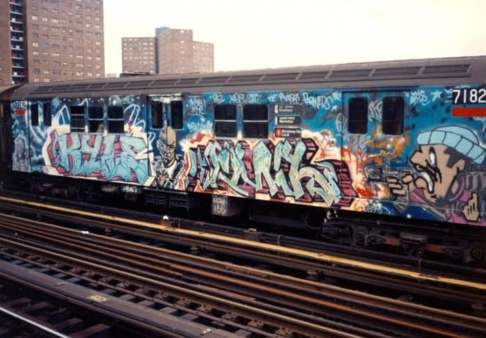 Gambar Grafiti Subway