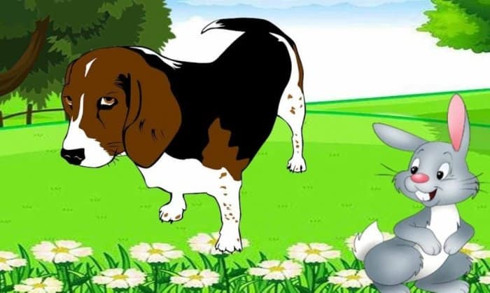 Cerita Fabel Kelinci dan Anjing Petani
