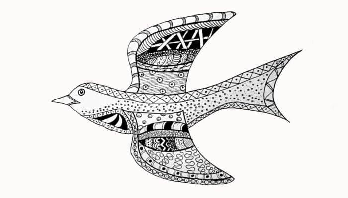 Gambar Kaligrafi Burung Hantu Cikimm Com