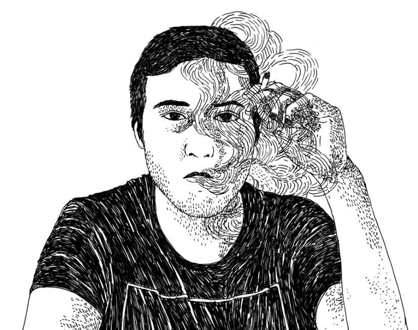30 Gambar Ilustrasi Pemandangan Kartun Manusia Lengkap
