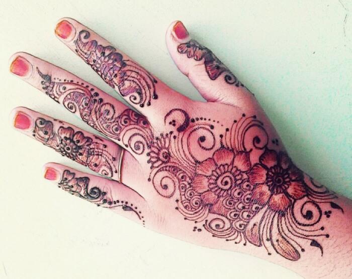 Motif Henna Batik