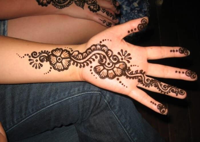 Motif Henna Pemula Thegorbalsla