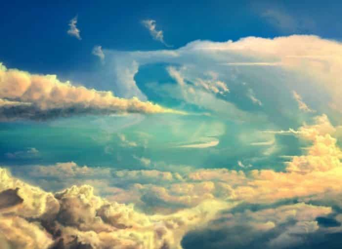 Unduh 78 Background Awan Warna Warni HD Paling Keren