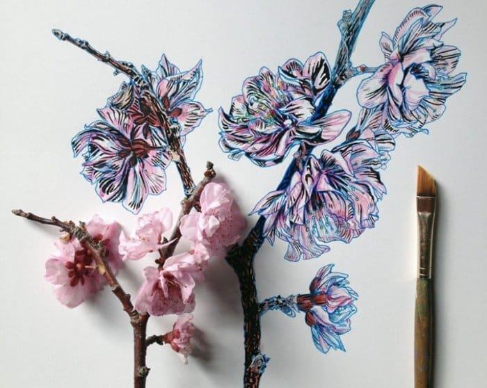 Gambar Ilustrasi Bunga