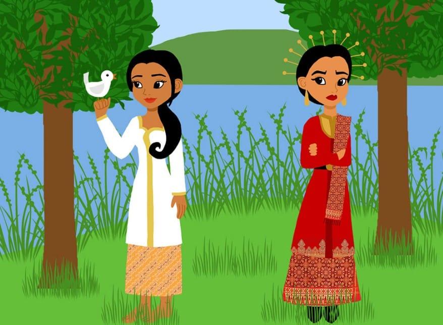 Gambar Ilustrasi Cerita Rakyat - Paimin Gambar