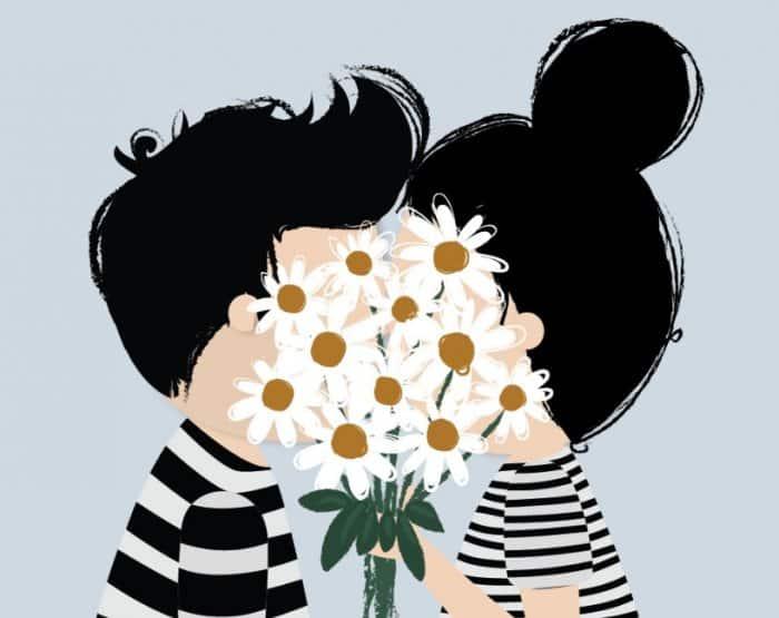 Gambar Ilustrasi Cinta