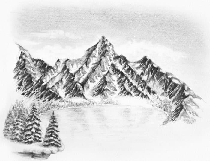 Gambar Ilustrasi Gunung