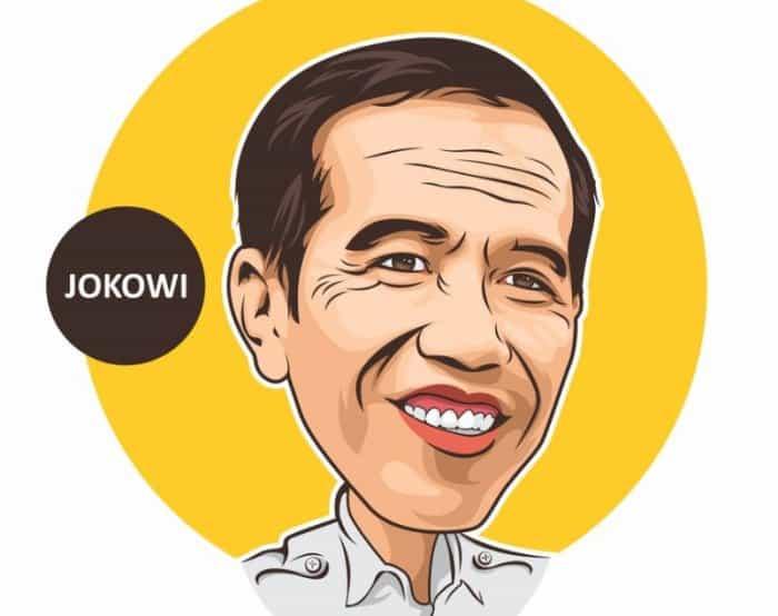81+ Gambar Abstrak Jokowi