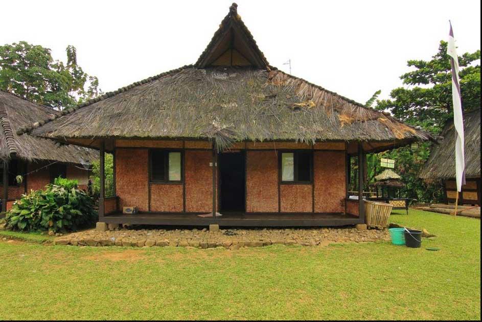 630 Koleksi Gambar Rumah Adat Sunda Beserta Namanya HD Terbaru