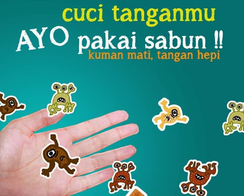 Iklan Cuci Tangan Thegorbalsla