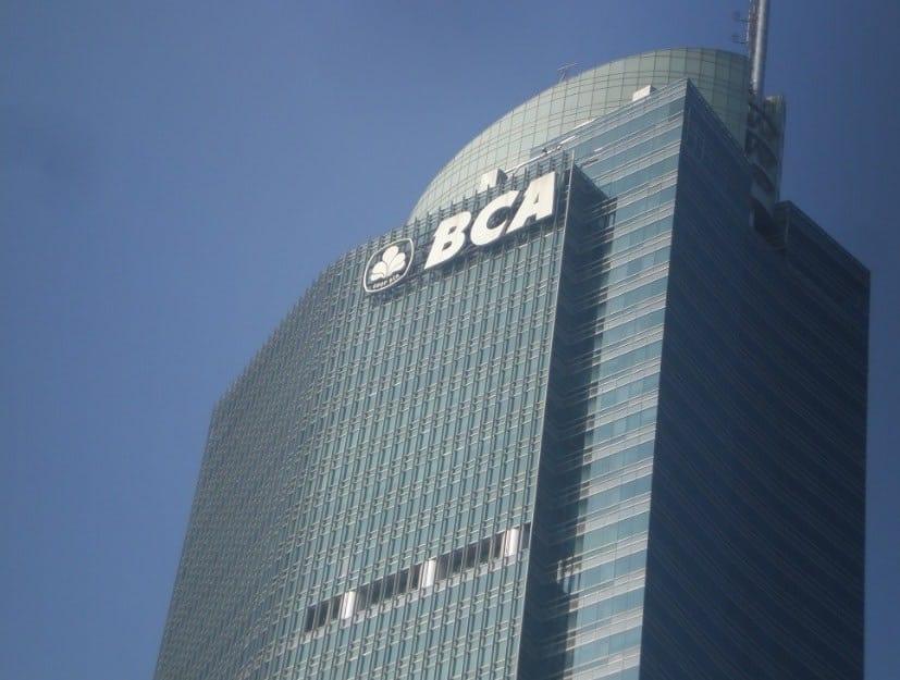 Kantor Cabang Bank BCA di DKI Jakarta Pusat