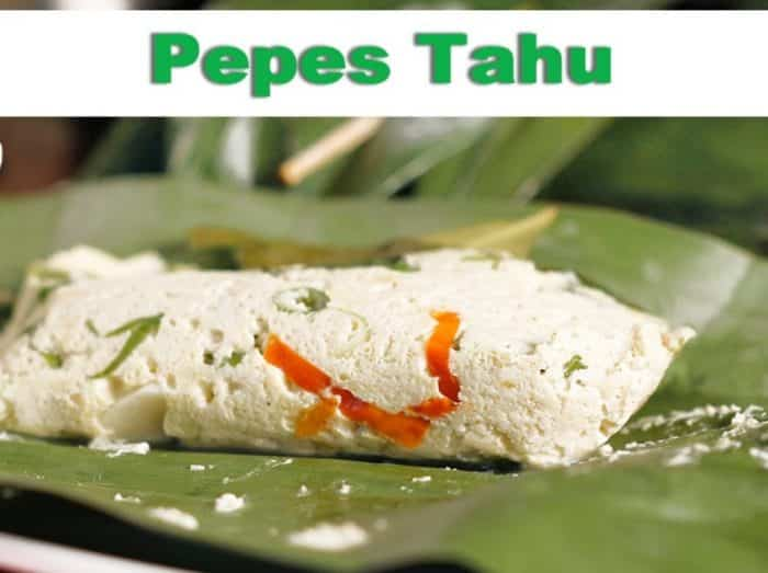 Resep Pepes Tahu