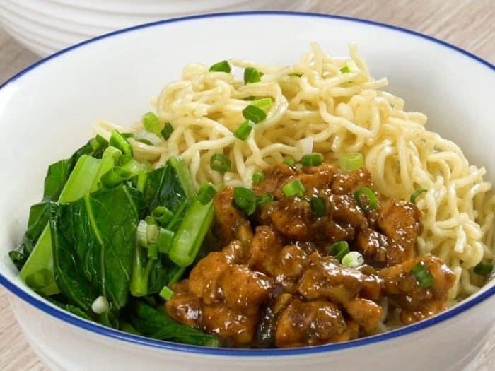 Resep Ayam Jamur Bakmi Gm - CRV Turbin