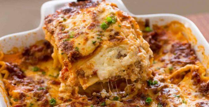 resep lasagna  enak  mudah ala pizza hut Resepi Lasagna Ala Pizza Hut Enak dan Mudah