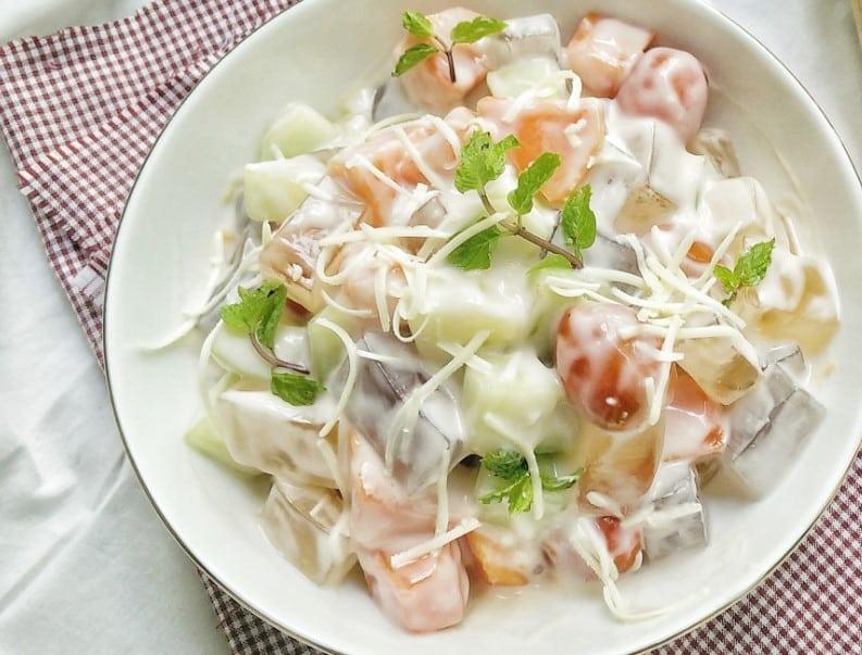 Resep Salad Buah Jelly Porsi Besar Thegorbalsla