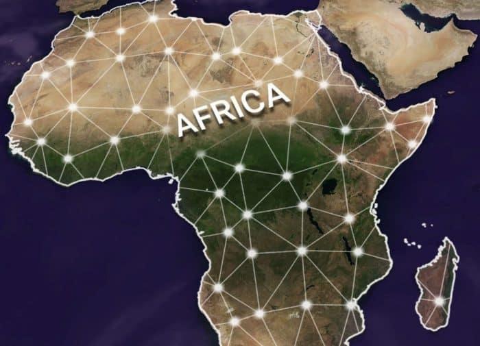 Peta Benua Afrika