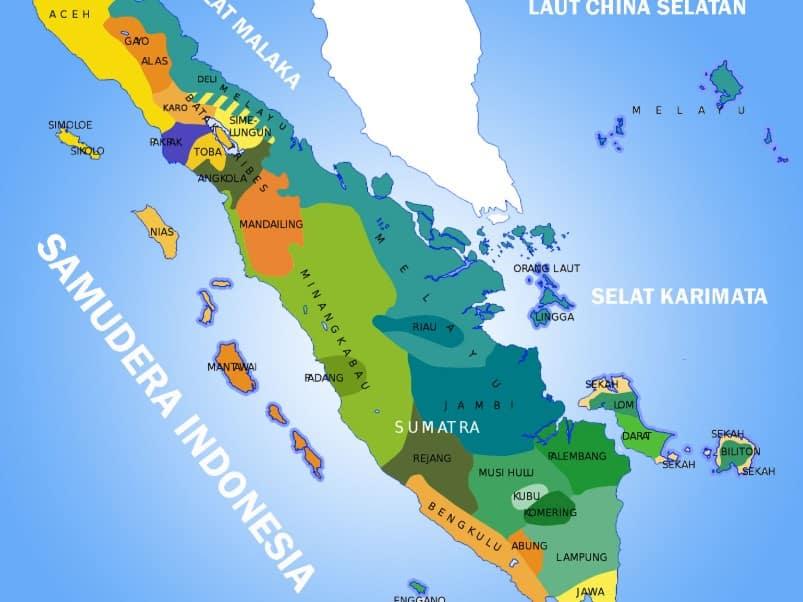 Peta Sumatera Kekayaan Alam Kebudayaan Sejarah Lengkap