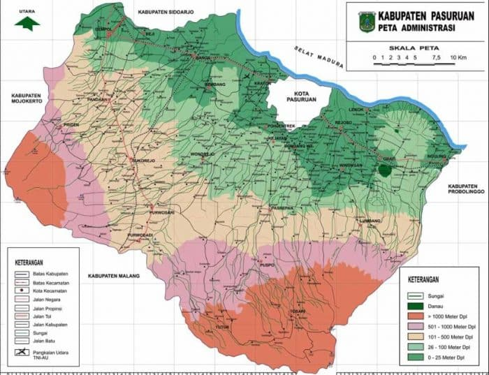 Peta Malang Kekayaan Alam Geografis Demografis Budaya
