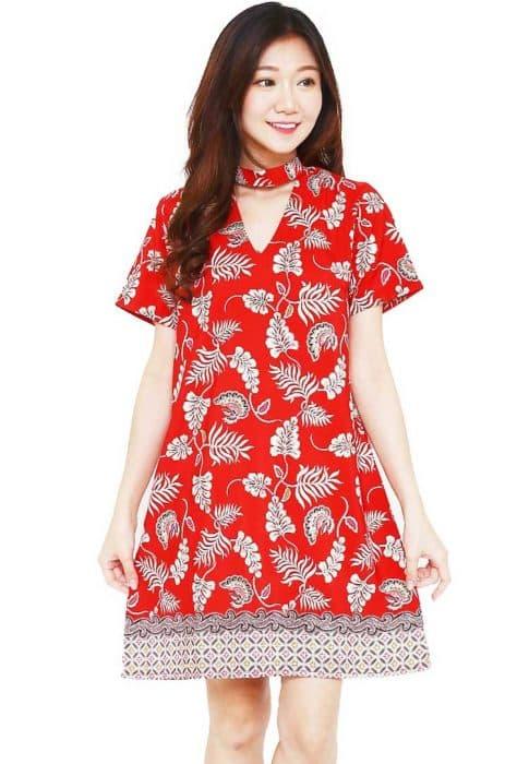 Model Baju Batik Wanita Untuk Kantor Bentuk Outer