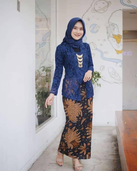 49 Model Baju Brokat Paling Lengkap Di Indonesia