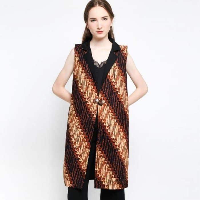 Model Batik Atasan Casual Non Formal