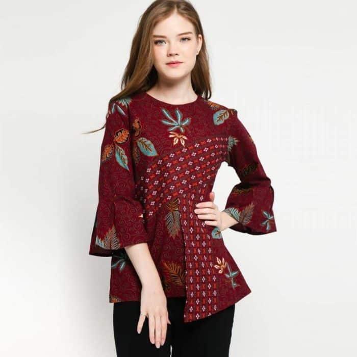 Model Batik Atasan Formal