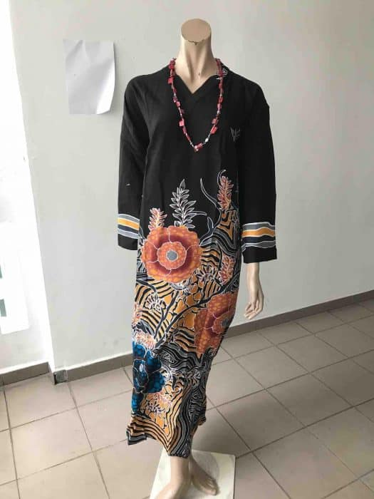 Model Batik Crew Neck Oriental
