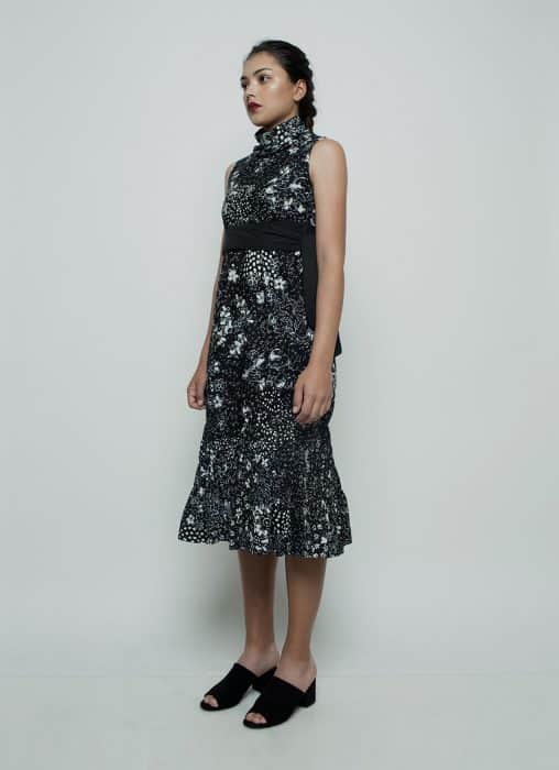 Model Batik Dress Klasik Bercampur Modern