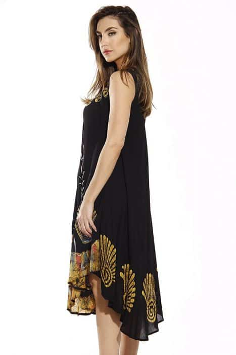 Model Batik Dress Menggantung