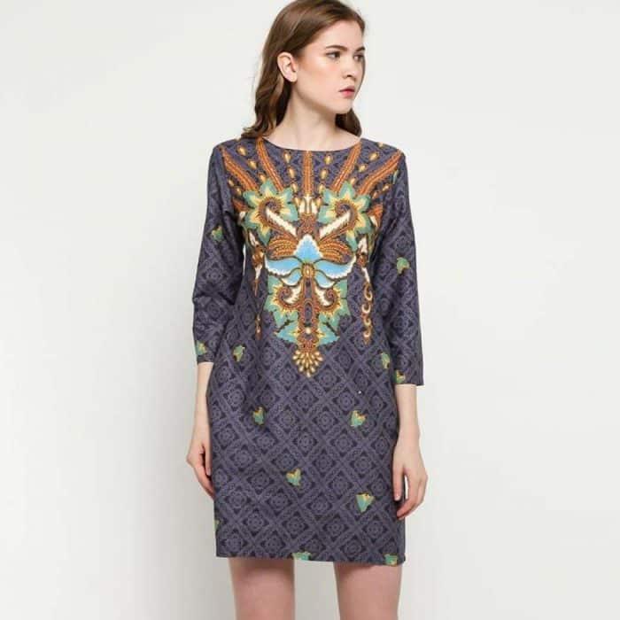 Model Batik Dress Semi Formal Untuk Berbagai Kesempatan