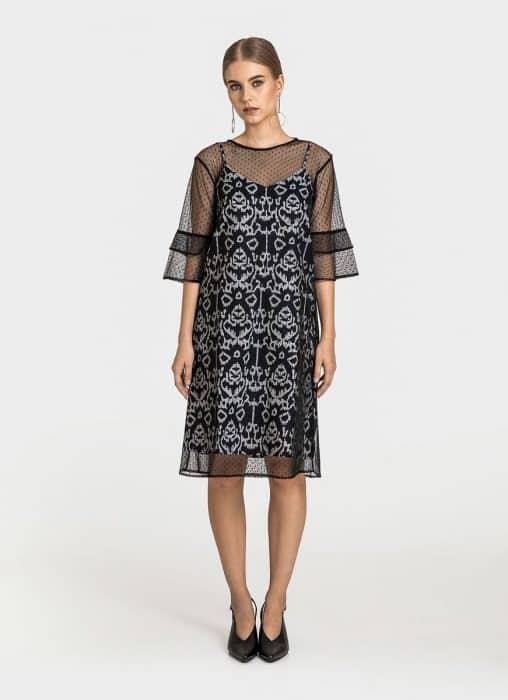 Model Batik Dress Vintage