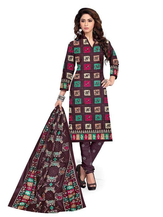 Model Baju Batik Kamiz India Mewah