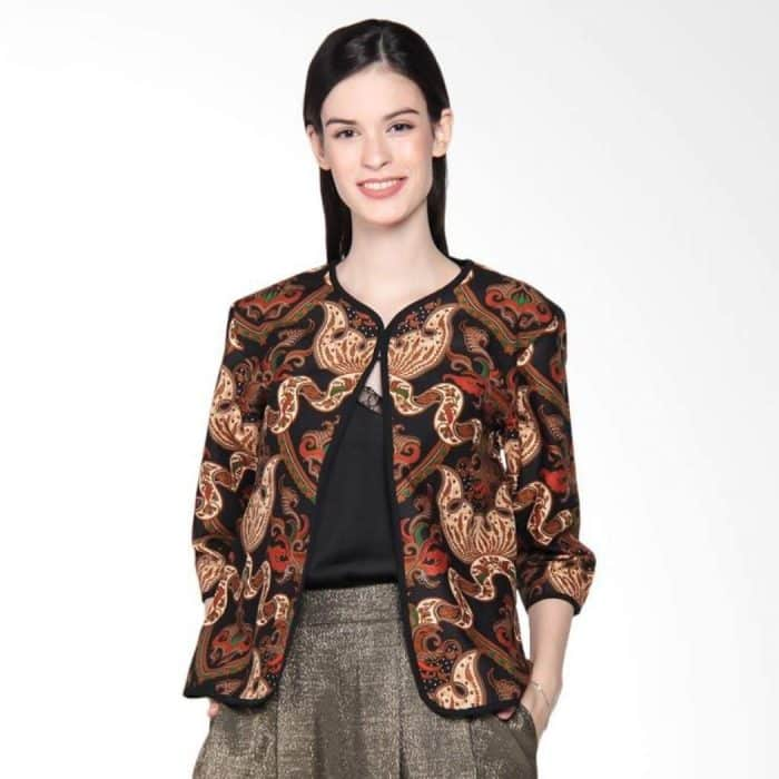 Model Batik Long Vest