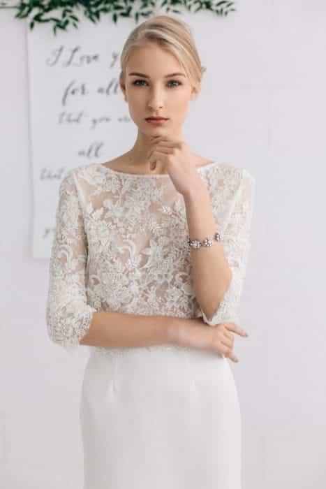 Model Dress Brokat Elegan Untuk Pesta Pernikahan