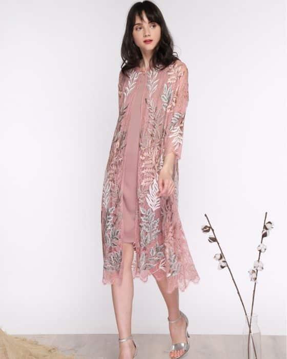Model Dress Brokat Terkini