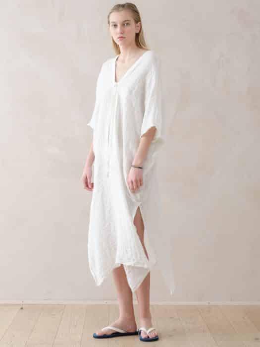 Model Tunik White Kaftan Style