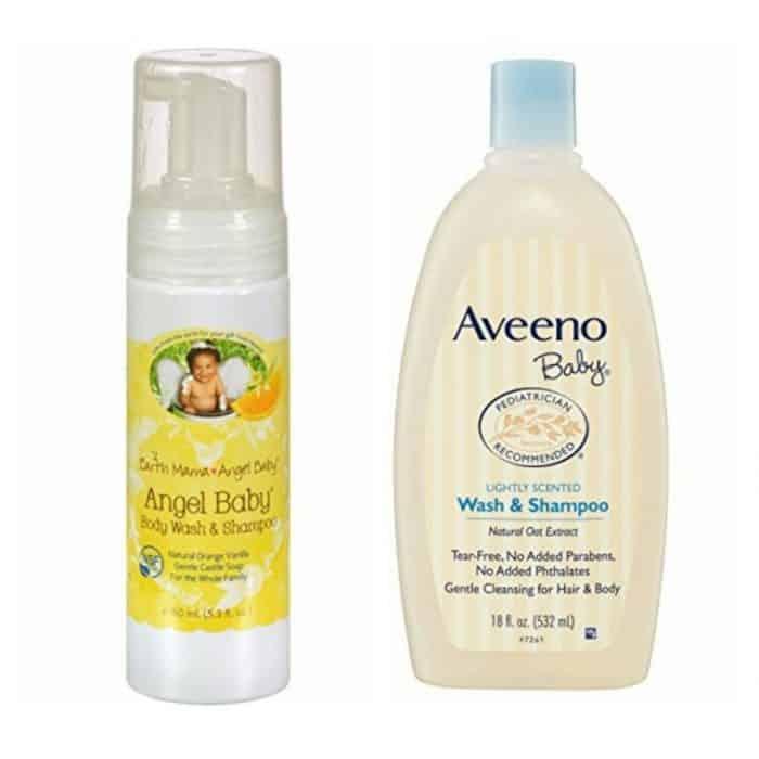 Shampo dan Sabun Mandi Bayi