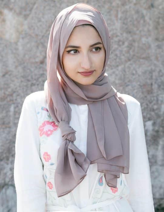 Model Hijab Scarf Panjang