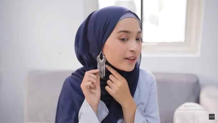 Model Hijab untuk Pesta Ulang Tahun