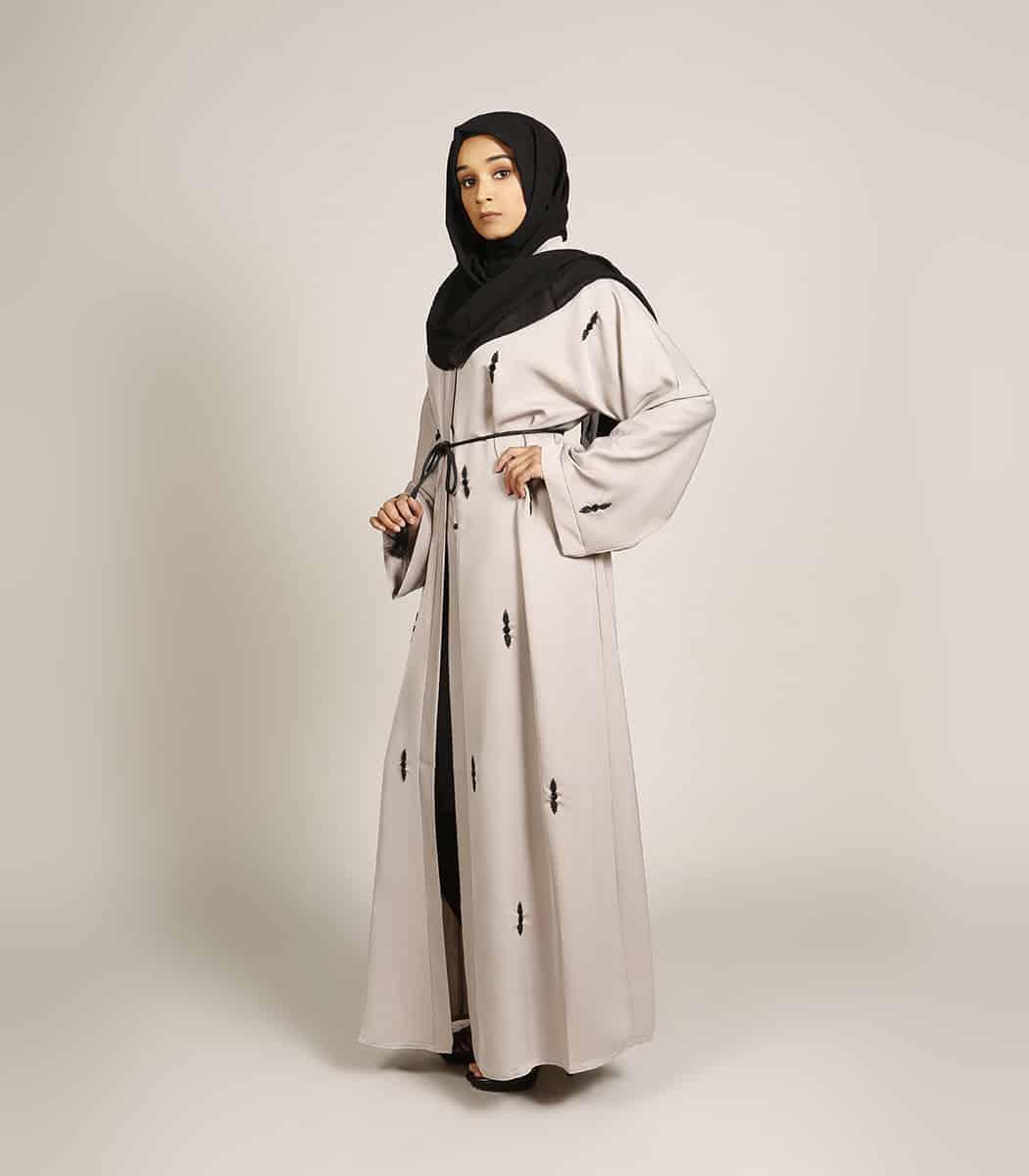 Baju Muslim Hitam Putih Thegorbalsla