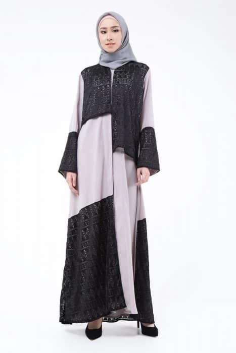 Baju Muslim dari Kain Brokat