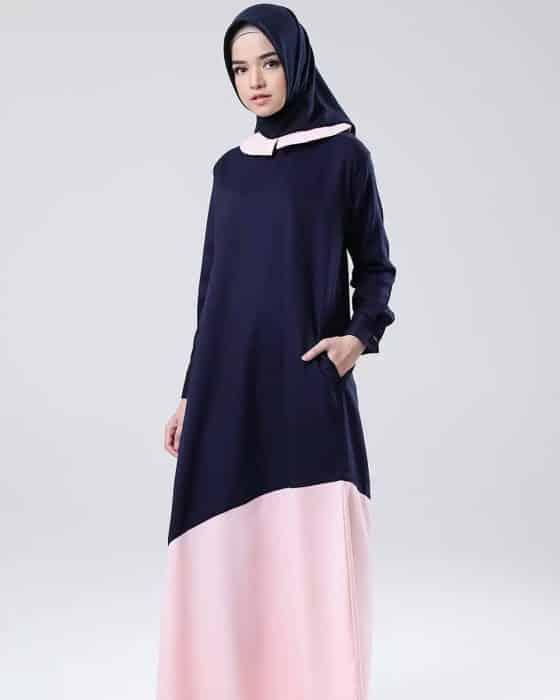 Baju Muslim dengan Atasan Terbaru