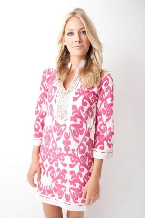 Etnic Pink In Tunic Dress