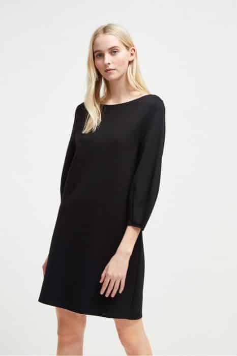 Long Sleeves Tunic In Black