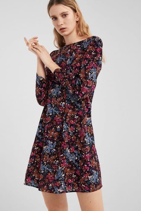 Model Baju Tunic Retro Floral Style